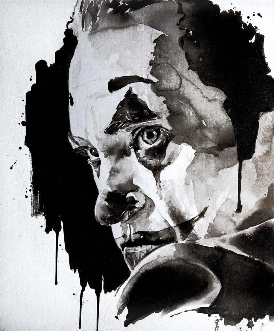 Arthur Fleck Joker - Dessin dans son intégralité